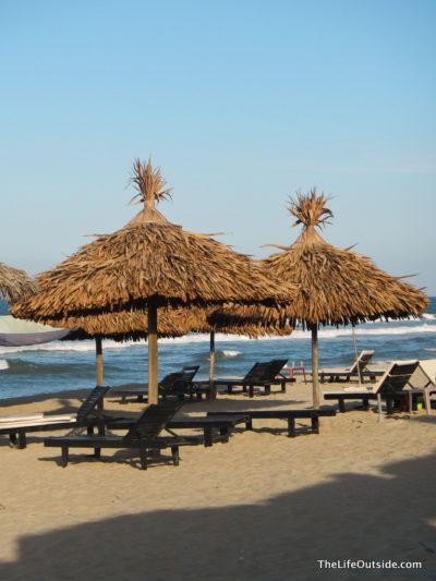 Beach Scene of Hoi An