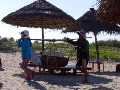 Locals Bringing in Fish