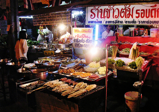 Bangkok Street Restaurant. Photo taken by: Oleg Sidorenko