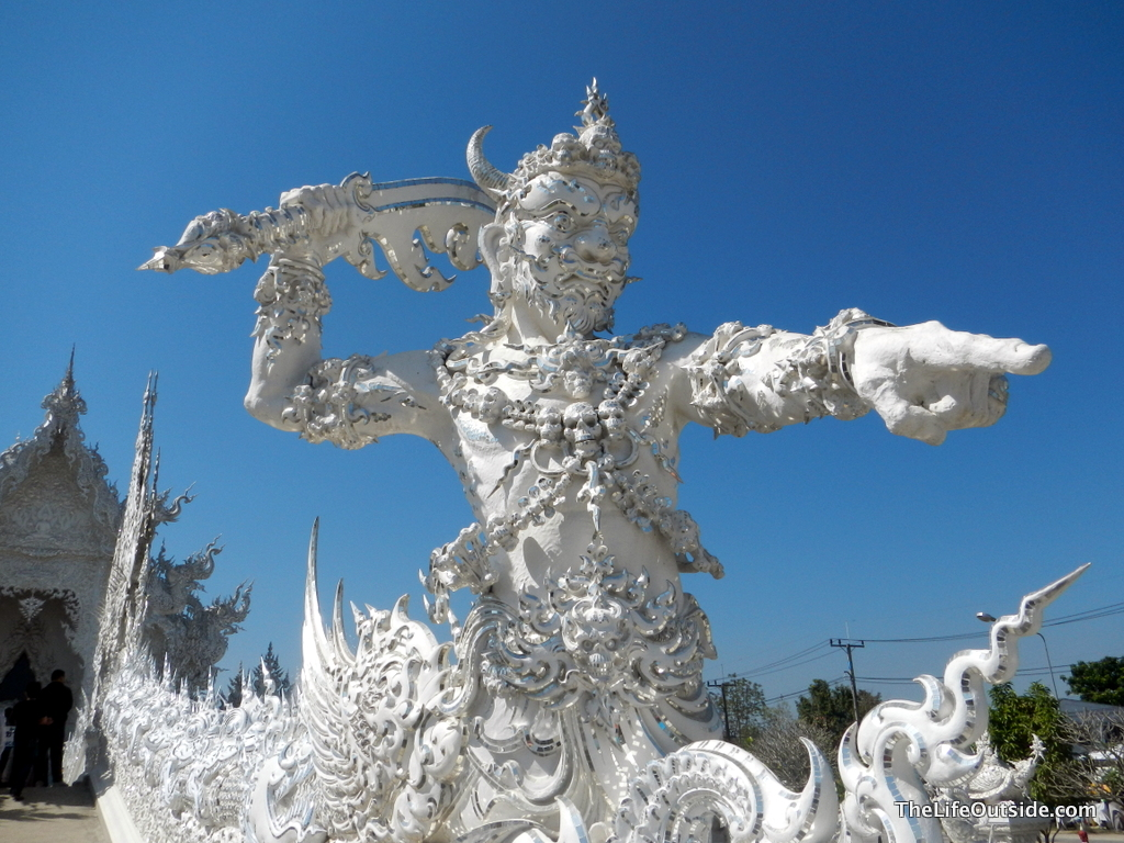 The White Temple Rahu