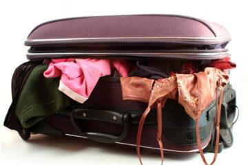 messy luggage smart travel choice