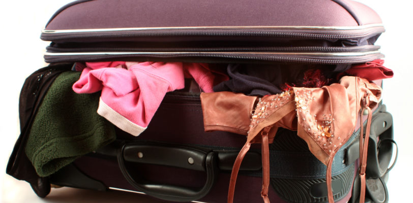 messy luggage smart travel choice