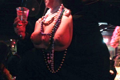 boobed nun in my crazy mardi gras story