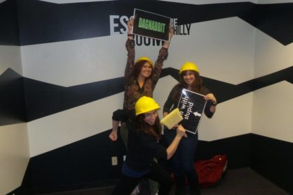 My escape room team