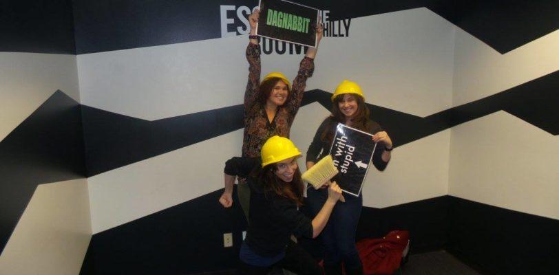 My escape room team